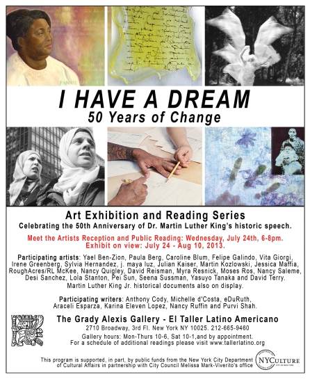 I Have a Dream Exhibition_El Taller Latino Americano-
