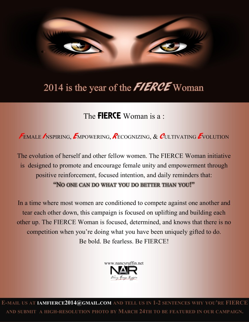 FIERCE Woman 2014